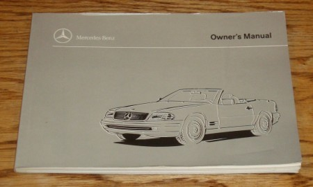Owners Manual 1997 SL